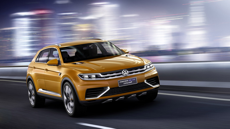 Volkswagen Crossblue Coupe Concept wallpaper