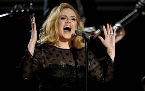 Adele Singing wallpaper