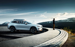 Beautiful Volvo Concept XC Coupe wallpaper