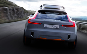 Amazing Volvo Concept XC Coupe wallpaper