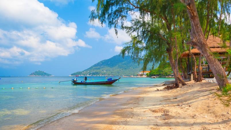 Hd Tropical Island Beach Paradise Wallpapers And Backgrounds: Paradise Island Landscape HD Wallpaper