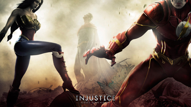 Injustice Gods Among Us Game wallpaper