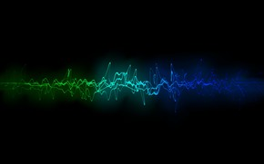 Cool Sound Waves wallpaper