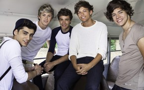 One Direction Smiling wallpaper