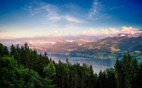 Lake Zurich Landscape