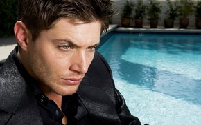 Jensen Ackles Profile Look wallpaper