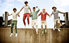 One Direction Jumping wallpaper