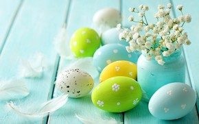 Vintage Easter Decorations wallpaper