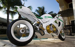 Awesome White Mototcycle wallpaper