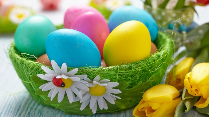 Lovely 2014 Easter Basket wallpaper
