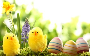 Easter Basket Decoration wallpaper