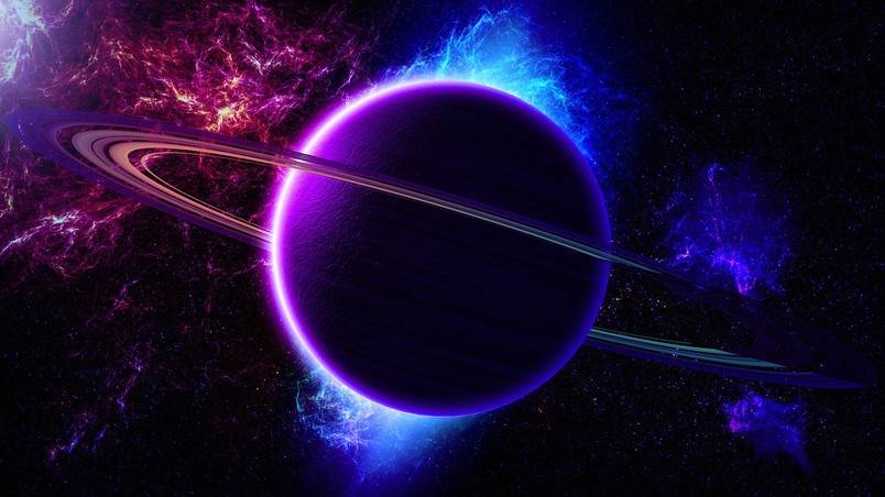 colorful 3d wallpaper planets - photo #16