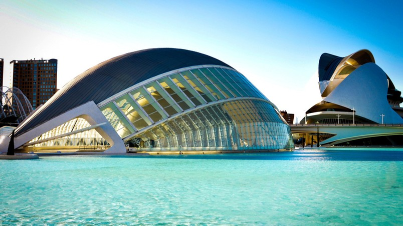City Of Arts And Sciences Valencia HD Wallpaper