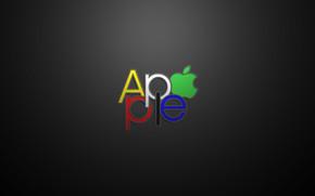 Apple Text Logo