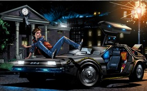 Back to the Future 4 Art wallpaper
