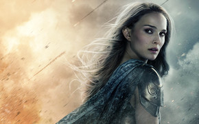 Natalie Portman Thor The Dark World wallpaper