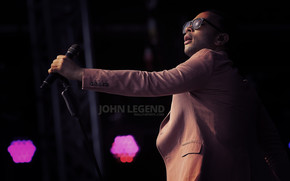 John Legend on Stage wallpaper