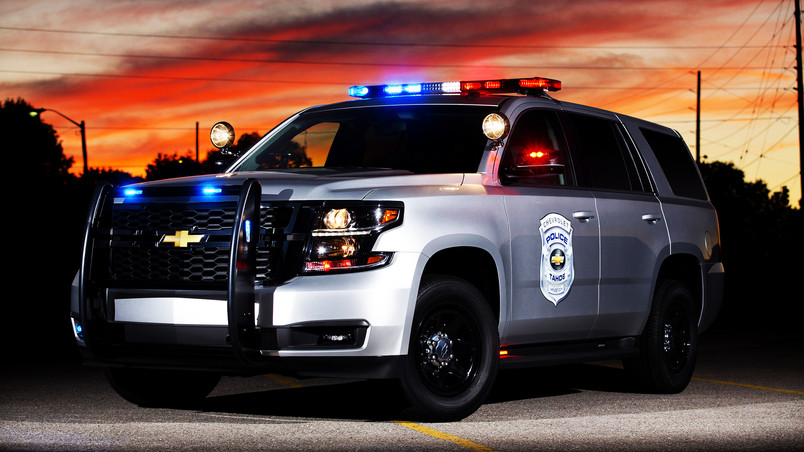 2015 Chevrolet Tahoe Police Concept HD Wallpaper - WallpaperFX