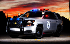 2015 Chevrolet Tahoe Police Concept wallpaper