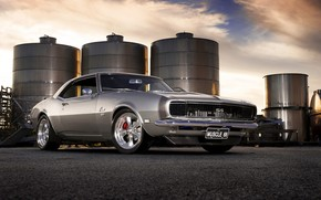 Gorgeous Old Chevrolet Camaro wallpaper