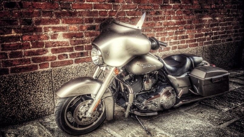 Stunning Old Harley Davidson wallpaper