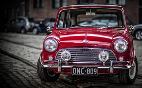 Old Mini Cooper S wallpaper
