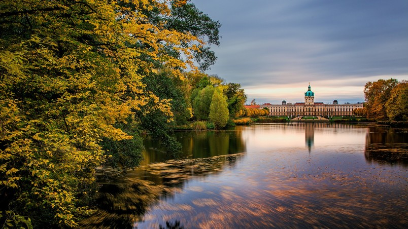 Schloss Charlottenburg Berlin wallpaper
