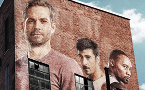 Paul Walker Bricks Portrait wallpaper