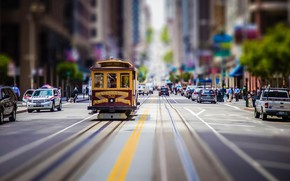 San Francisco Vintage Tram wallpaper
