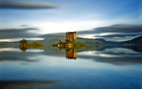 Castle Stalker Scotland wallpaper