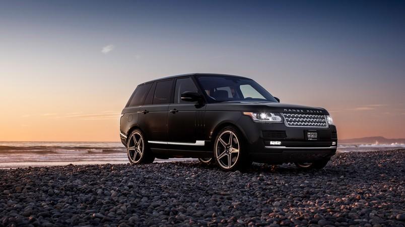Black Range Rover Sport Wallpaper: New Black Range Rover HD Wallpaper