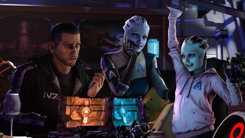 Liara Mass Effect wallpaper