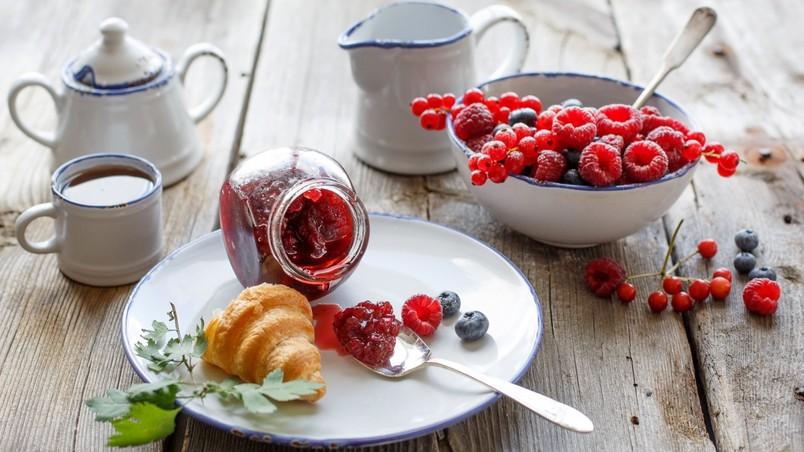 wallpapers breakfast food: Perfect Breakfast HD Wallpaper