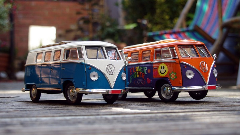 VW Campervans HD Wallpaper
