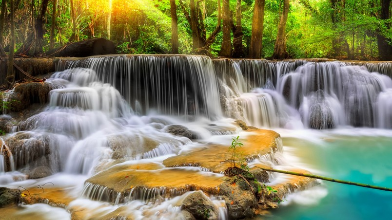 Waterfall in Thailand wallpaper