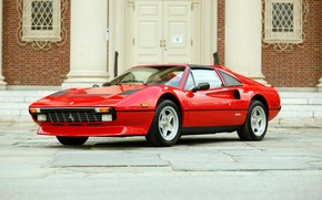 Old Ferrari 308 wallpaper