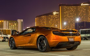 Superb McLaren 12C Spider wallpaper