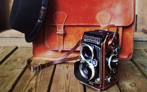 Old Rolleiflex Camera wallpaper