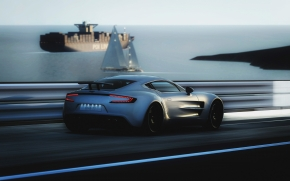 Gorgeous Aston Martin ONE-77 wallpaper