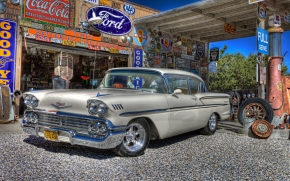 1958 Classic Chevy wallpaper