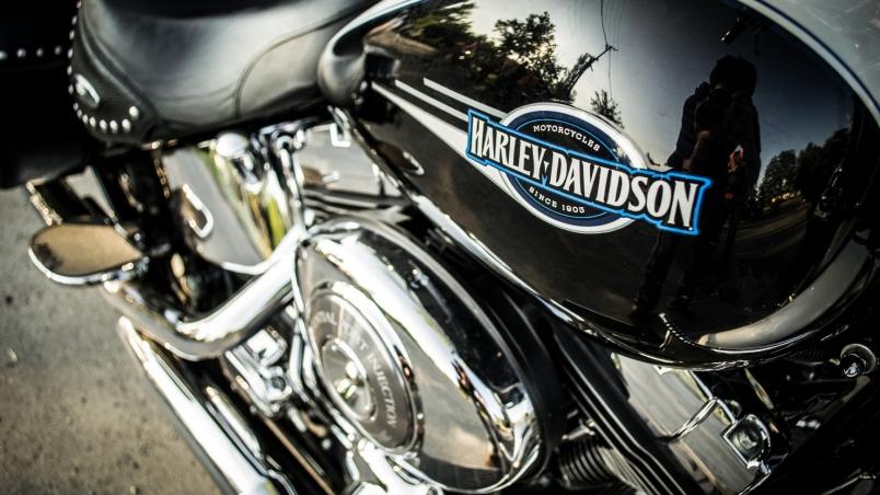 Harley Davidson Logo Hd Wallpaper Wallpaperfx