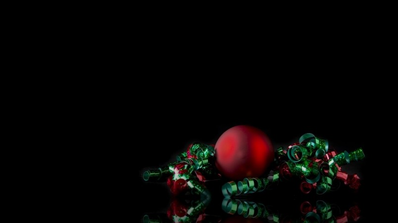 Simple Christmas Ornament HD Wallpaper - WallpaperFX