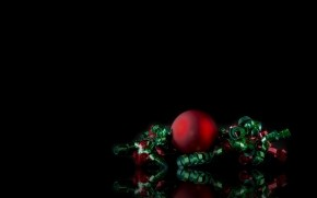 Simple Christmas Ornament wallpaper