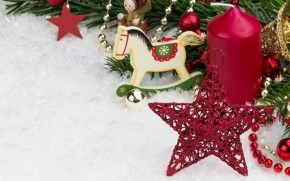 2014 Small Christmas Ornaments wallpaper