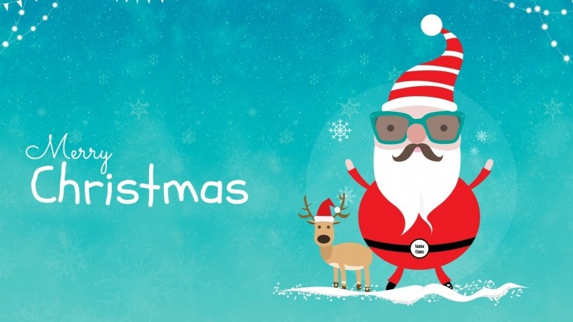 Really Cool Santa wallpaper