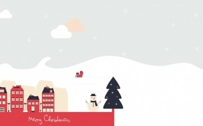 Beautiful Merry Christmas Poster wallpaper