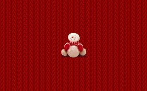 Bear Ready for Christmas wallpaper