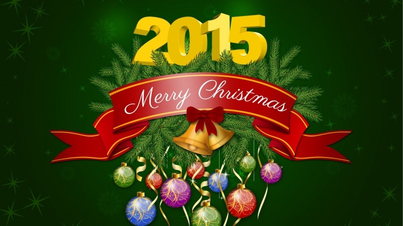 2014 Merry Christmas Poster Hd Wallpaper Wallpaperfx
