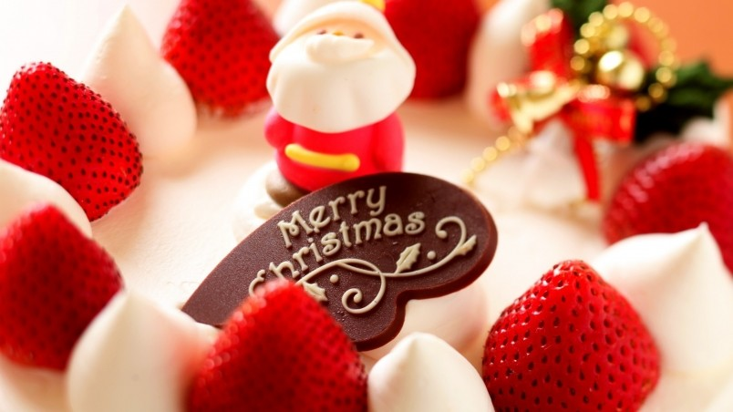 Sweet Christmas Tart HD Wallpaper - WallpaperFX