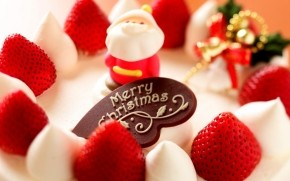 Sweet Christmas Tart wallpaper